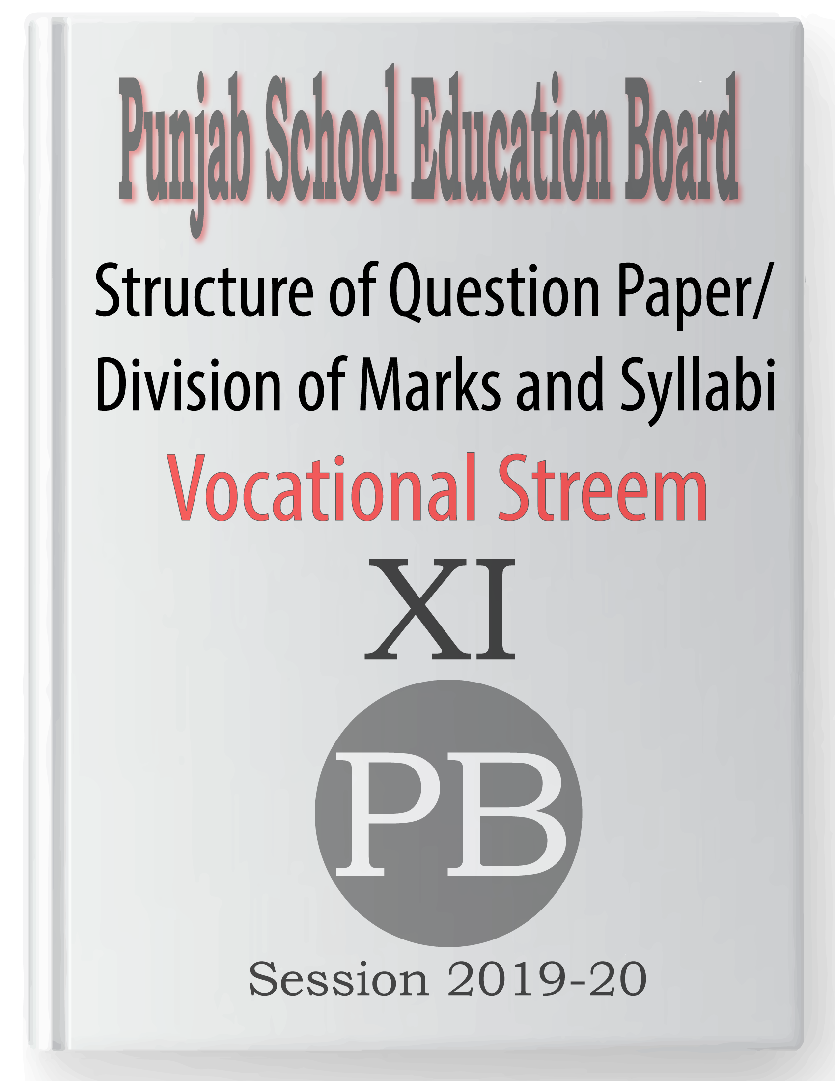 Syllabus from Academic Year 2019-20 of Punjab School
